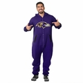 Baltimore Ravens Adult One-Piece NFL Klew Suit