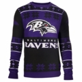Baltimore Ravens  Big Logo NFL Ugly Sweater