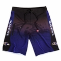 Baltimore Ravens Gradient NFL Board Shorts