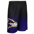 Baltimore Ravens NFL 2016 Gradient Polyester Shorts By Forever Collectibles
