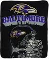Baltimore Ravens NFL Fleece Throw Blanket