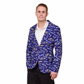 Baltimore Ravens NFL Ugly Business Sport Coat Repeat Logo by Forever Collectibles