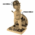 Bartolo Colon (New York Mets) Commemorative Home Run Newspaper Base MLB Bobble Head/Stomach v2.0 (Sepia Variant Version) Exclusive by Forever Collectibles