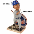 Bartolo Colon (New York Mets) Commemorative Home Run Newspaper Base MLB Bobble Head Exclusive by Forever Collectibles