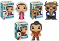 Beauty & The Beast Funko Pop! Complete Set (3)