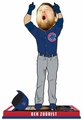 Ben Zobrist (Chicago Cubs) 2016 World Series Game 7 Ticket Base Bobblehead