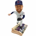 Ben Zorbrist (Chicago Cubs) 2016 World Series Champions Newspaper Base Bobble Head by Forever Collectibles