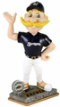 Bernie Brewer Mascot (Milwaukee Brewers) 2015 Springy Logo Action Bobble Head Forever Collectibles