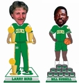 Bird/Russell (Boston Celtics) Set (2) NBA Legends Bobble Heads Exclusives #/500 Forever