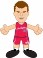 "Blake Griffin (Los Angeles Clippers) 10"" Player Plush NBA Bleacher Creatures"