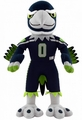 "Blitz Mascot (Seattle Seahawks) 10"" NFL Player Plush Bleacher Creatures"