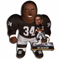 "Bo Jackson (Los Angeles Raiders) NFL Legends Bobble Head and 24"" NFL Plush Studds by Forever Collectibles Combo"