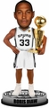 Boris Diaw (San Antonio Spurs) 2014 NBA Champ Trophy Bobble Head
