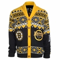 Boston Bruins 2015 NHL Ugly Cardigan