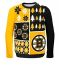 Boston Bruins NHL Ugly Sweater BusyBlock
