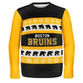 Boston Bruins NHL Ugly Sweater Wordmark