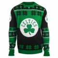 Boston Celtics Big Logo NBA Ugly Sweater