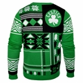 Boston Celtics NBA Patches Ugly Sweater by Klew