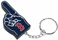Boston Red Sox #1 Foam Finger Keychain