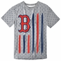Boston Red Sox Big Logo Flag Tee by Forever Collectibles