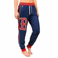 Boston Red Sox MLB Poly Fleece Women's Jogger Pant by Forever Collectibles