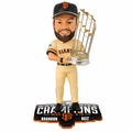 Brandon Belt (San Francisco Giants) 2014 World Series Champs Trophy Bobble Head Forever