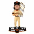 Brandon Crawford (San Francisco Giants) 2014 World Series Champs Trophy Bobble Head Forever