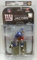 Brandon Jacobs (New York Giants) NFL Series 18 McFarlane AFA Graded 9.0