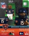 Brandon Marshall (Chicago Bears) NFL OYO G2 Sportstoys Minifigures