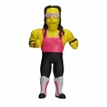 "Bret Hart (The Simpsons 25th Anniversary) 5"" Action Figure Series 3 NECA"