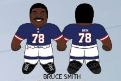 "Bruce Smith (Buffalo Bills) 24"" NFL Plush Studds by Forever Collectibles"