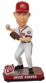 Bryce Harper (Washington Nationals) Forever Collectibles 2014 MLB Springy Logo Base Bobblehead