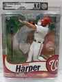 Bryce Harper (Washington Nationals) MLB McFarlane AFA Graded U9.0+