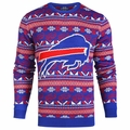 Buffalo Bills 2016 Aztec NFL Ugly Crew Neck Sweater by Forever Collectibles