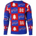 Buffalo Bills 2016 Patches NFL Ugly Crew Neck Sweater by Forever Collectibles
