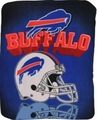 Buffalo Bills NFL Fleece Throw Blanket