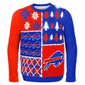 Buffalo Bills NFL Ugly Sweater Busy Block