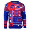 Buffalo Bills Patches NFL Ugly Sweater by Klew