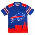 Buffalo Bills NFL Polyester Short Sleeve Thematic Polo Shirt