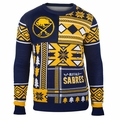 Buffalo Sabres NHL Patches Ugly Sweater by Klew