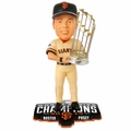 Buster Posey (San Francisco Giants) 2014 World Series Champ Trophy Bobble Head Forever