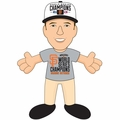 "Buster Posey (San Francisco Giants) 2014 World Series Champions (T-Shirt/Hat) 10"" MLB Player Plush Bleacher Creatures"