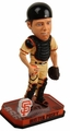 Buster Posey (San Francisco Giants) Forever Collectibles 2014 MLB Springy Logo Base Bobblehead