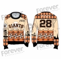 Buster Posey (San Francisco Giants) MLB Ugly Player Sweater