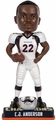 C.J. Anderson (Denver Broncos) Super Bowl 50 Champions NFL Bobble Head Forever Collectibles