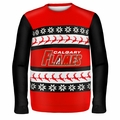 Calgary Flames NHL Ugly Sweater Wordmark