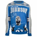 Calvin Johnson #81 (Detroit Lions) NFL 2015 Player Ugly Sweater
