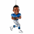 Calvin Johnson (Detroit Lions) Forever Collectibles NFL Player Ornament