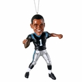 Cam Newton (Carolina Panthers) Forever Collectibles NFL Player Ornament