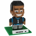 Cam Newton (Carolina Panthers) NFL 3D Player BRXLZ Puzzle By Forever Collectibles